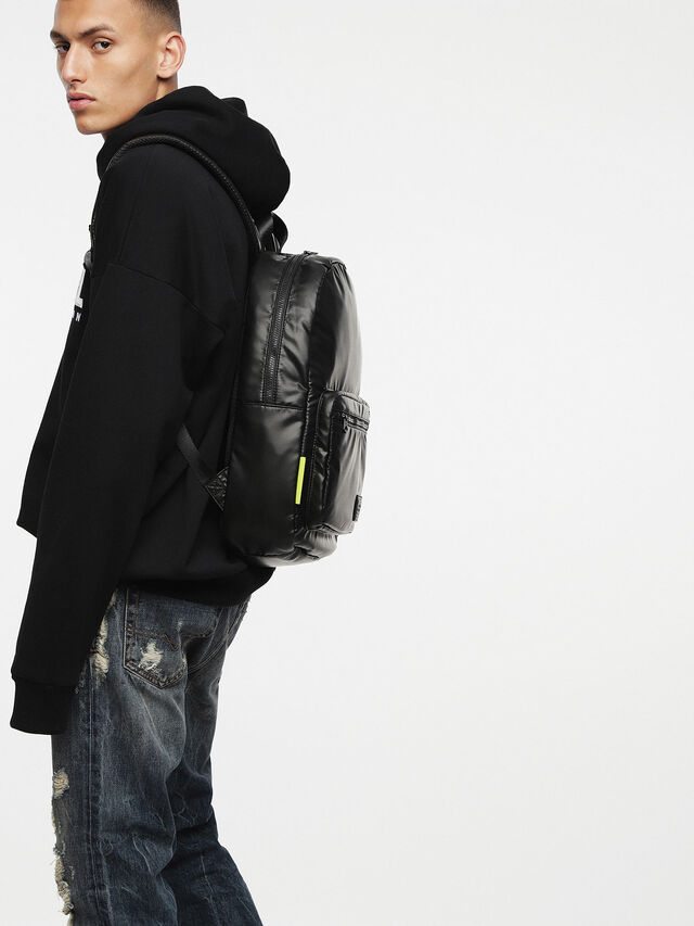 Diesel - F-DISCOVER BACK, Black - Backpacks - Image 6