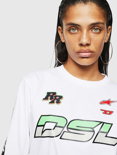 Diesel - ASTARS-T-JUST-LONG-F,  - T-Shirts - Image 3
