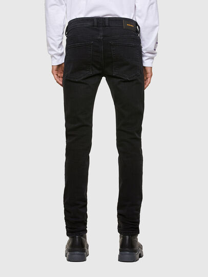 Diesel - Sleenker 009DH, Black/Dark grey - Jeans - Image 2