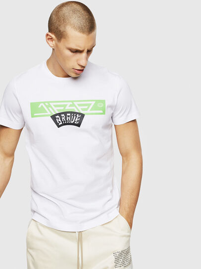 Diesel - T-DIEGO-A1, White - T-Shirts - Image 1