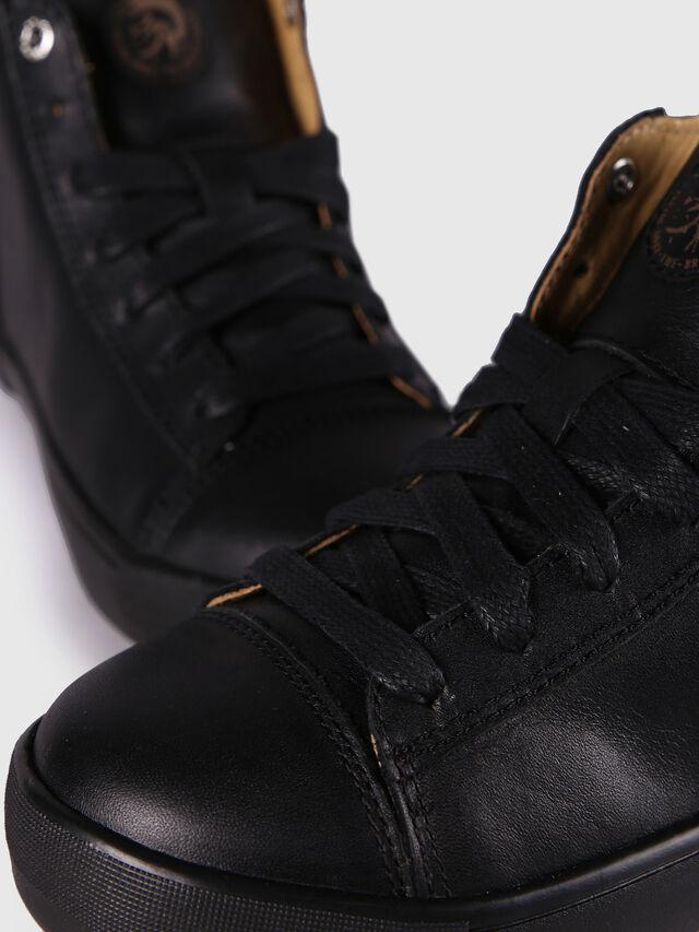 Diesel - SN MID 24 NETISH YO, Black - Footwear - Image 6