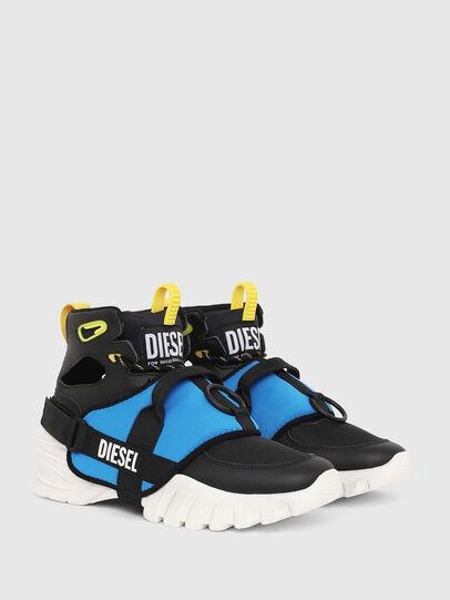 Diesel - S-SHARQUEZ MID, Black - Sneakers - Image 2