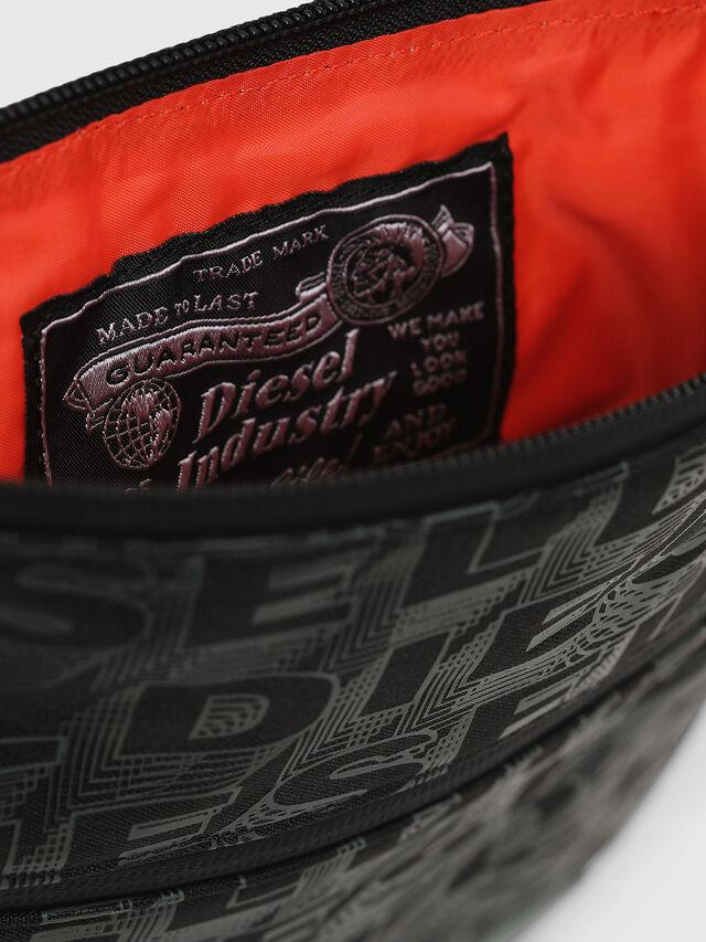 Diesel - F-DISCOVER CROSS, Black/Green - Crossbody Bags - Image 4