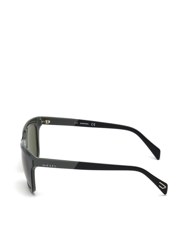 Diesel - DL0224, Green - Sunglasses - Image 3