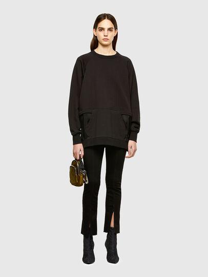 Diesel - F-MIX, Black - Sweaters - Image 5