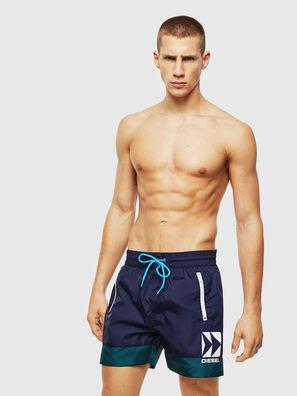 BMBX-WAVE 2.017, Blue/Green - Swim shorts