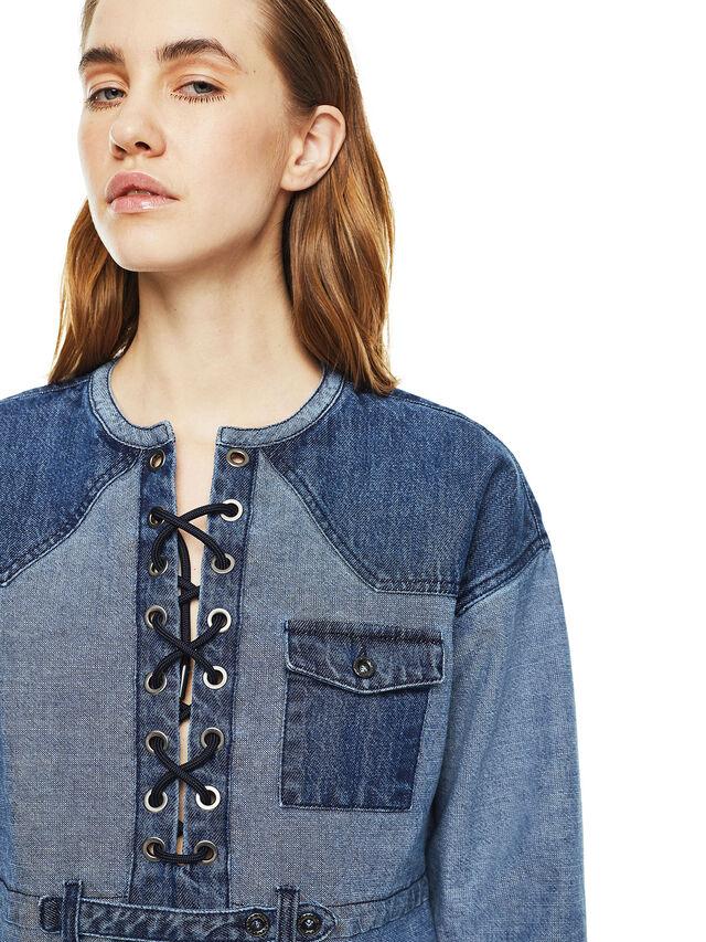 Diesel - DAFARY, Blue Jeans - Dresses - Image 4
