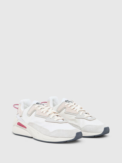Diesel - S-SERENDIPITY LC W, White/Pink - Sneakers - Image 2