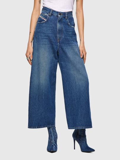 Diesel - D-Luite 09A82, Medium blue - Jeans - Image 1