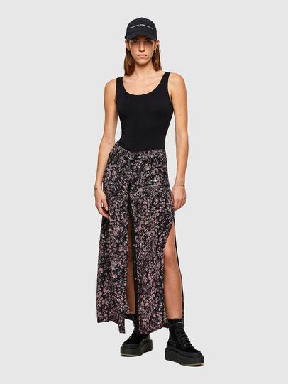 Diesel - O-PALMS, Black/Pink - Skirts - Image 4