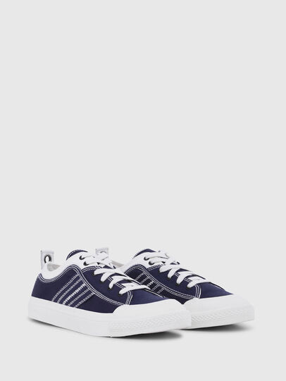 Diesel - S-ASTICO LOW LACE, Blue/White - Sneakers - Image 2