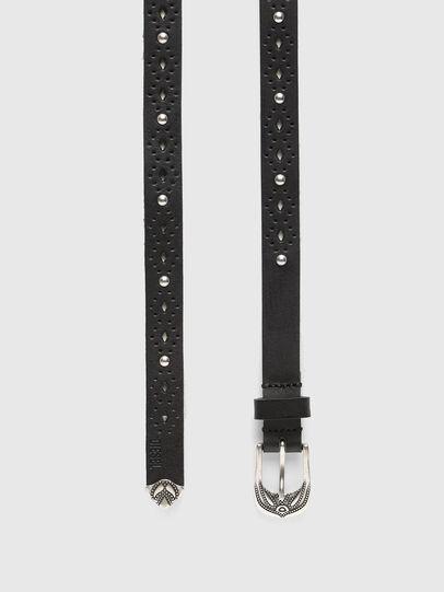 Diesel - B-HOR, Black - Belts - Image 3