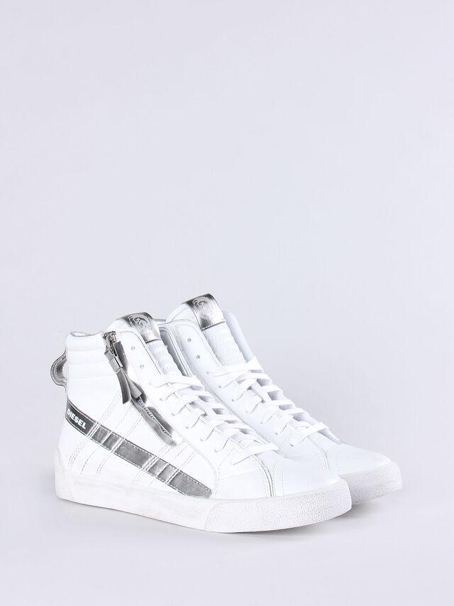 D-STRING PLUS W, White/silver