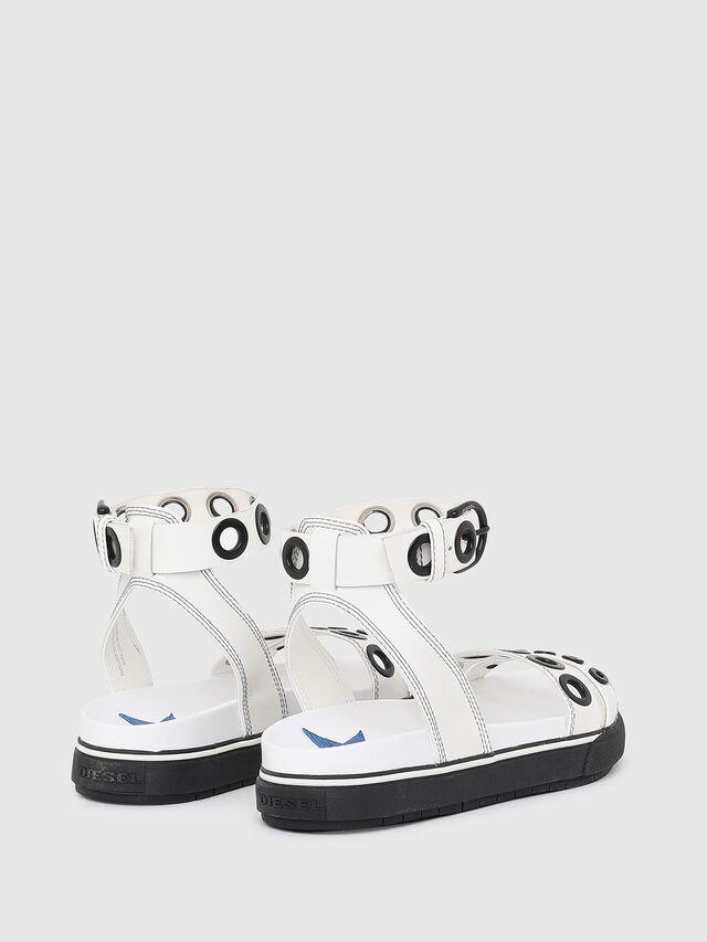 Diesel - SA-GRAND LCE, White/Black - Sandals - Image 3