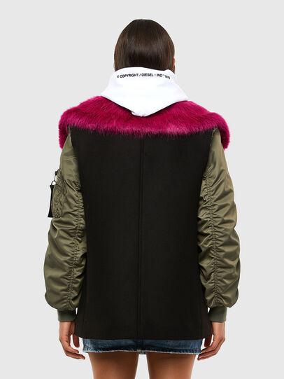 Diesel - W-AMARAL, Black - Winter Jackets - Image 2
