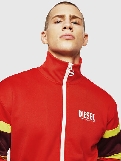 Diesel - S-AKON, Fire Red - Sweaters - Image 3