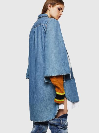 Diesel - DE-MONYA, Medium blue - Dresses - Image 2