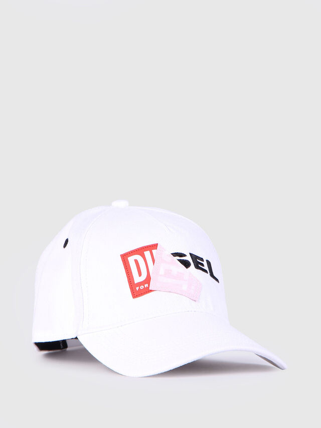 Diesel - CAKERYM, White - Caps, Hats and Gloves - Image 1