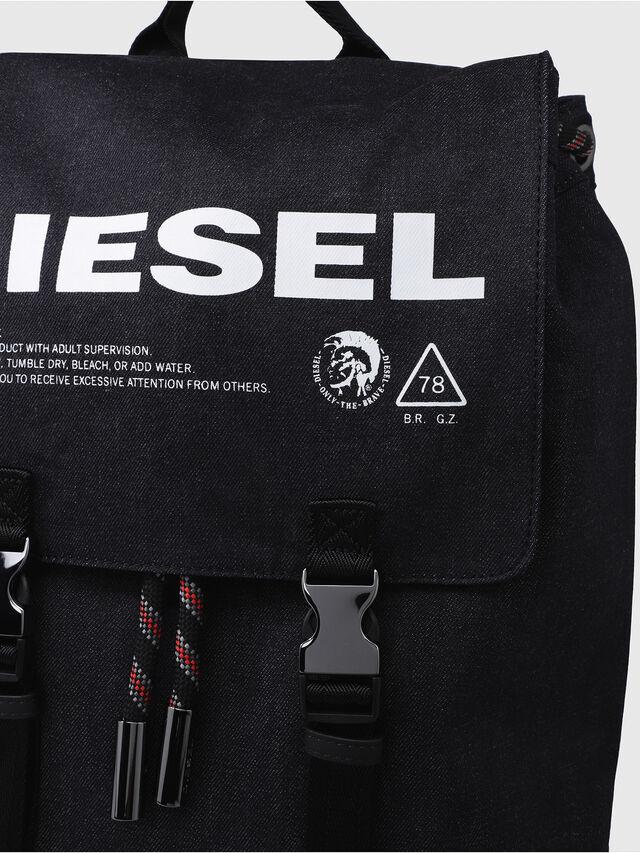 Diesel - VOLPAGO BACK, Black - Backpacks - Image 4