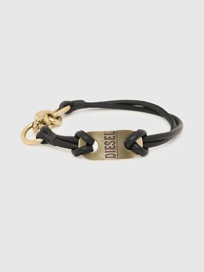 Diesel - A-SCREW, Black/Gold - Bijoux and Gadgets - Image 1