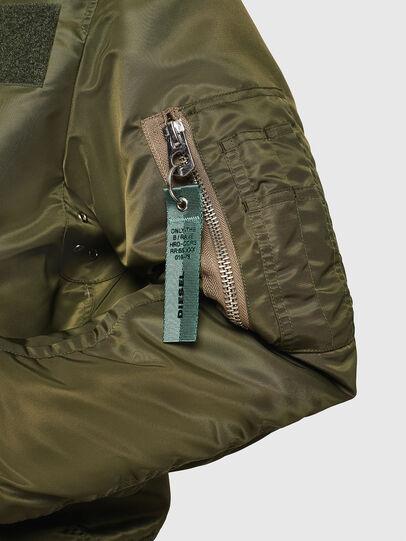 Diesel - J-TANKER, Dark Green - Jackets - Image 3