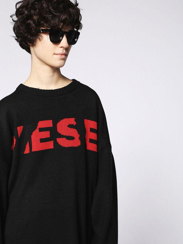 Diesel - DL0251, Bright Black - Sunglasses - Image 6