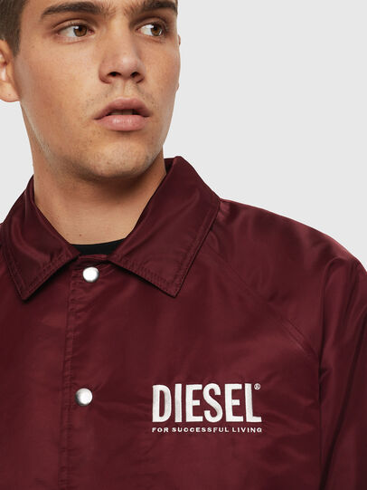 Diesel - J-AKIO-A, Bordeaux - Jackets - Image 3