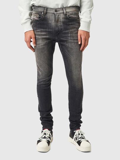 Diesel - D-Amny 09A88, Black/Dark grey - Jeans - Image 1