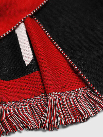 Diesel - STEDIO, Red/Black - Scarf - Image 3