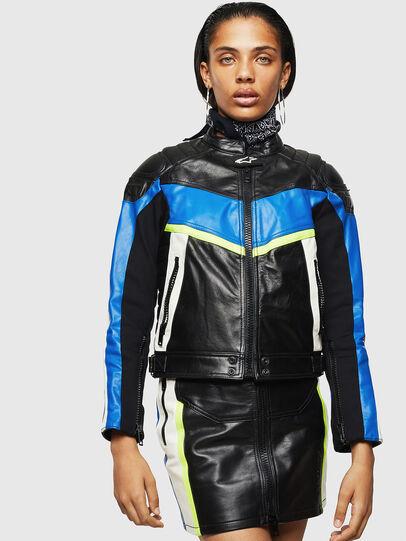 Diesel - ASTARS-LQUATTRO,  - Leather jackets - Image 1