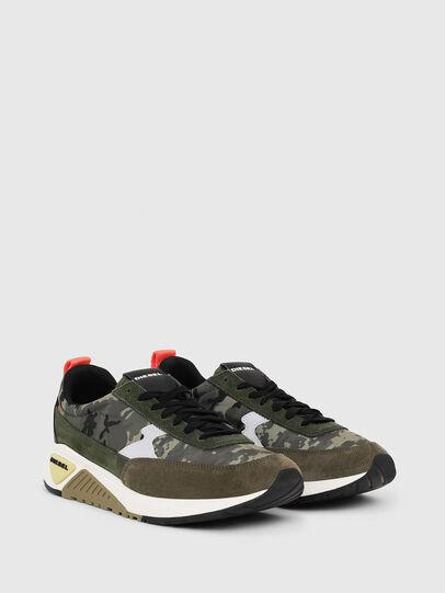 Diesel - S-KB LOW LACE II, Green Camouflage - Sneakers - Image 2