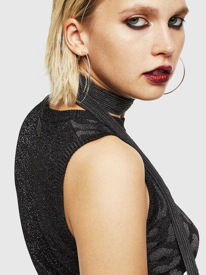 Diesel - M-TWINS, Black - Knitwear - Image 5