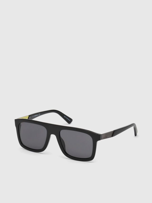 Diesel - DL0268, Black - Sunglasses - Image 2