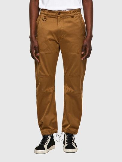 Diesel - P-DUFF, Brown - Pants - Image 1