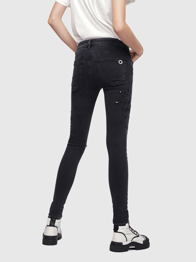 Diesel - Slandy 085AW, Black/Dark grey - Jeans - Image 2