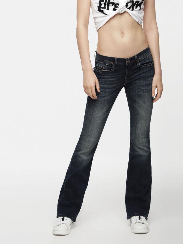 Diesel - Lowleeh 0814W, Dark Blue - Jeans - Image 1