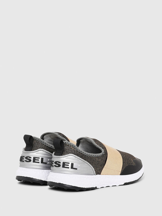 Diesel - SN SLIP ON 16 ELASTI, Black/Gold - Footwear - Image 3
