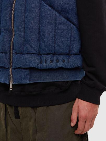 Diesel - D-WAIN, Medium blue - Denim Jackets - Image 4
