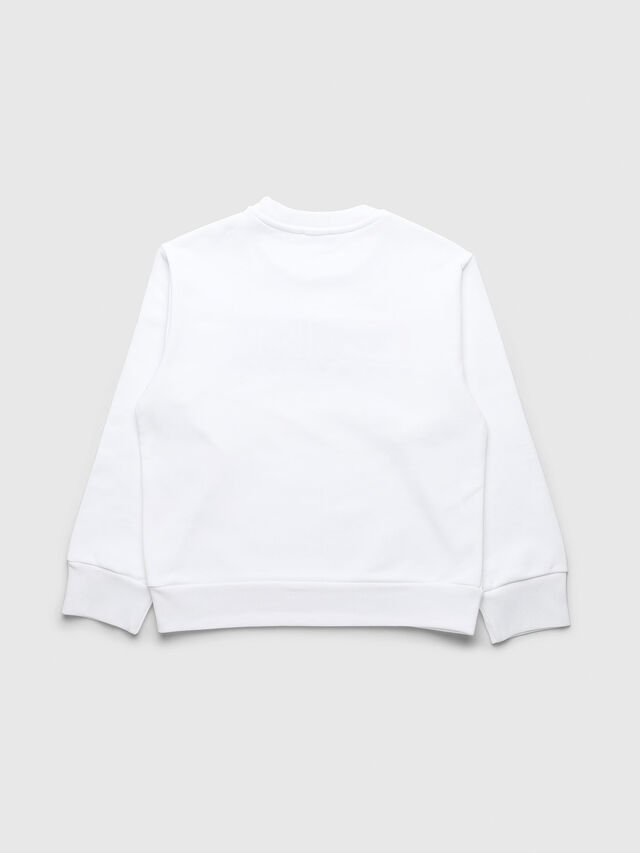 Diesel - UN-K-SCREWDIVISION-A, White - Sweaters - Image 2