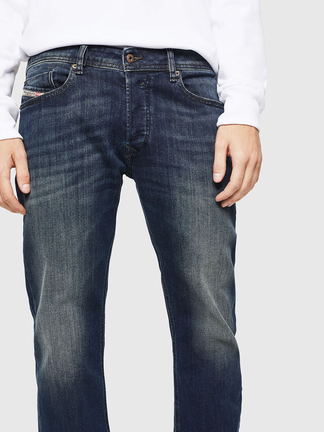 Diesel - Waykee 0814W, Dark Blue - Jeans - Image 3