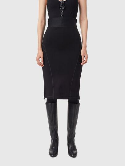 Diesel - O-BAND, Black - Skirts - Image 1