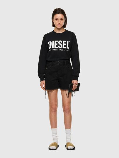 Diesel - DE-REG-R, Black - Shorts - Image 5