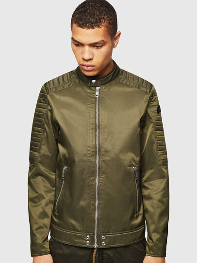 Diesel - J-SHIRO, Military Green - Jackets - Image 1