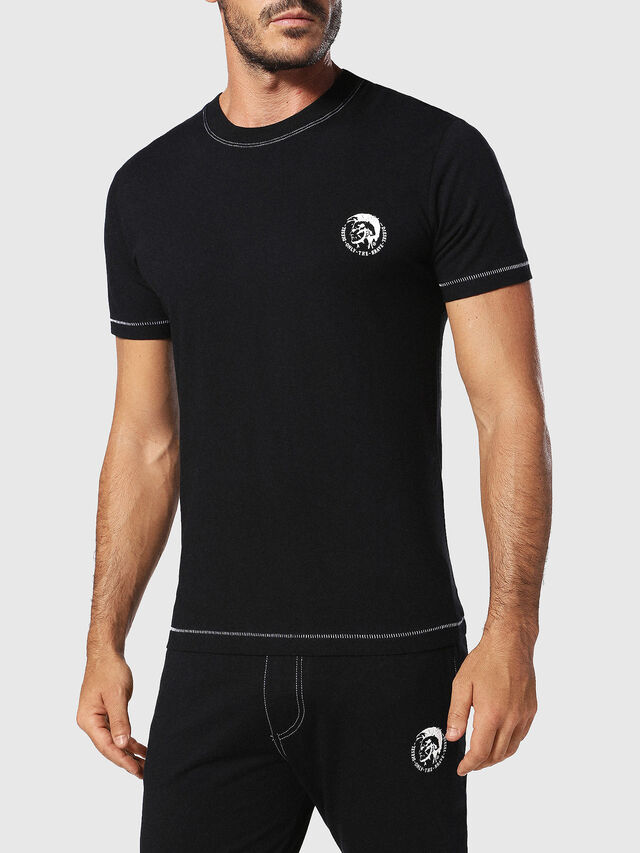 Diesel UMLT-JAKE, Black - T-Shirts - Image 1