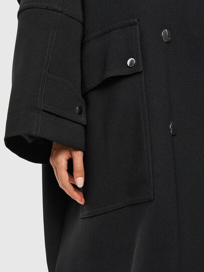 Diesel - W-TILLER, Black - Winter Jackets - Image 3