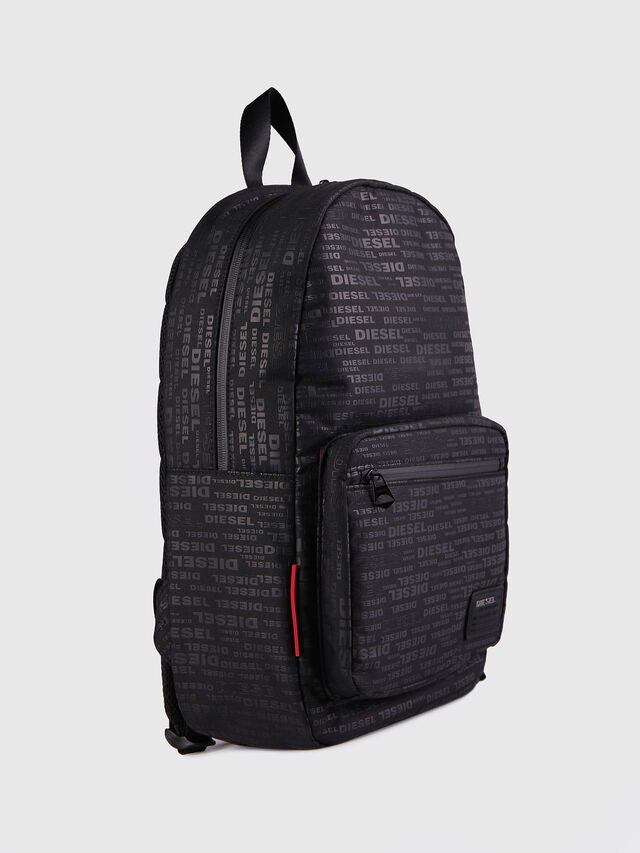 Diesel - F-DISCOVER BACK, Black/Red - Backpacks - Image 2