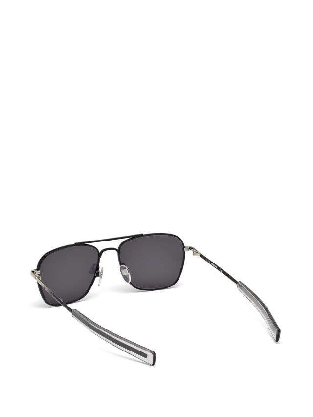 Diesel - DL0219, Black - Sunglasses - Image 2