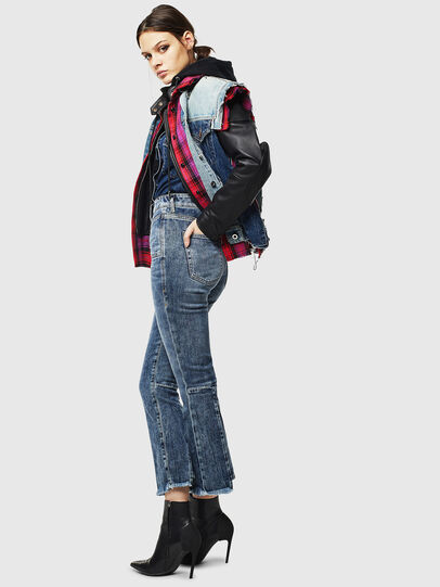Diesel - D-Earlie 0098W, Medium blue - Jeans - Image 6