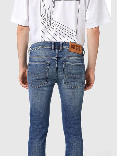 Diesel - Sleenker 09A86, Light Blue - Jeans - Image 4