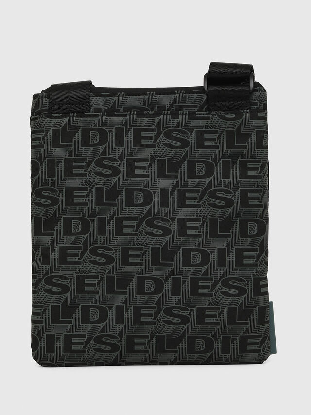 Diesel - F-DISCOVER CROSS, Black/Green - Crossbody Bags - Image 2